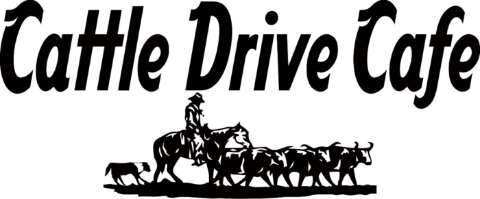 Logo for the Cattle Drive Cafe in Coleman, TX